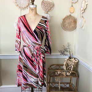 Diane Von Furstenberg DVF Suzelly Silk Wrap Dress